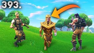 CRAZY THANOS GLITCH..!! Fortnite Daily Best Moments Ep.393 (Fortnite Battle Royale Funny Moments)