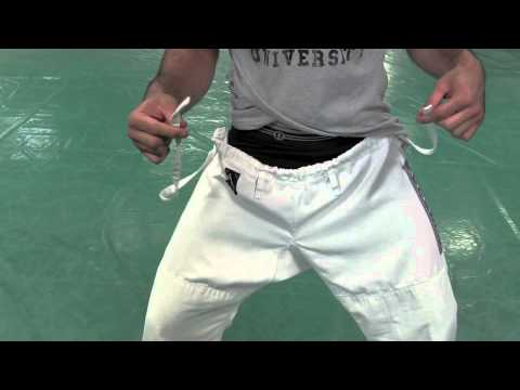 How to Tie Your Jiu-Jitsu Pants w/ Rener Gracie