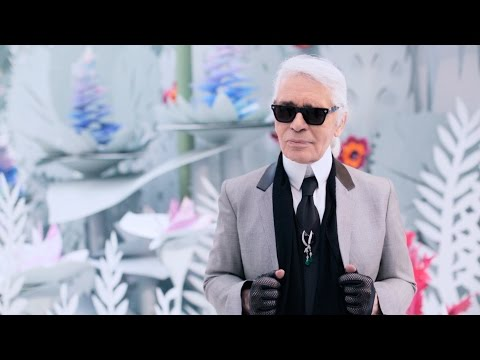 Karl Lagerfeld's Interview - Spring-Summer 2015 Haute Couture CHANEL show