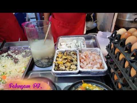 !!ออส่วนทะเล สดมาก!!! อร่อยมากๆร้านนี้ที่เทศกาลกินหอย,ดูนกตกหมึกที่ชะอำ2016,Cfood Festival at Cha am