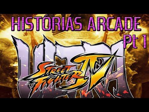 Histórias Arcade Ultra Street Fighter 4 Pt. 1 [BR]