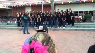 Mission middle school choir