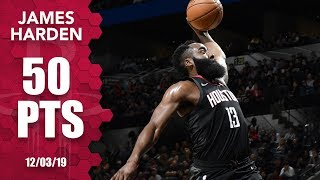James Harden's dunk causes confusion, drops 50 in wild 2OT finish | 2019-20 NBA Highlights
