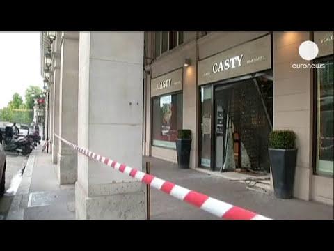 Espectacular robo en una joyería de lujo en París
