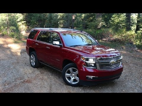 2015 Chevy Tahoe & Suburban 0-60 MPH First Drive & Review