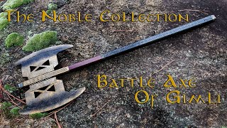 The Noble Collection - Battle Axe of Gimli - The Lord of the Rings Trilogy