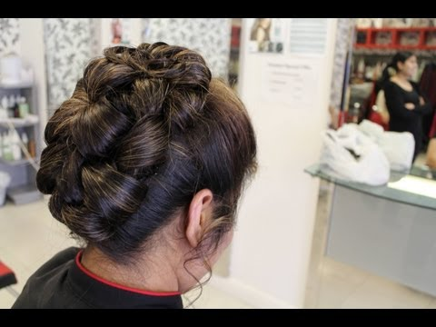 Hairstyles for Long Hair | Indian, Pakistani, Asian Wedding Hair Style | Updo Bun