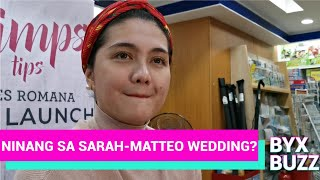 DIMPLES ROMANA, ninang sa kasal nina MATTEO & SARAH?; Excited na makawork si SETH FEDELIN & JOSHLIA