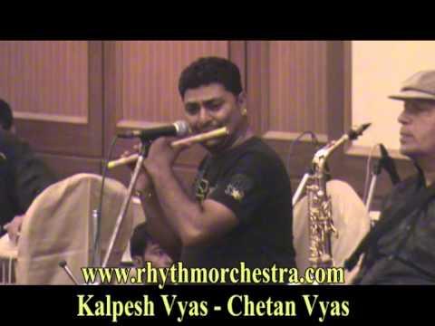 Kabhi Khushi Kabhi Gum Flute  8 Artist Instrumental By Kalpesh - Chetan Vyas Rhythm Orchestra video
