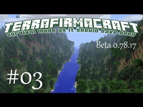 Minecraft [TerraFirmaCraft] #03 - Большое Оловочарование!!!