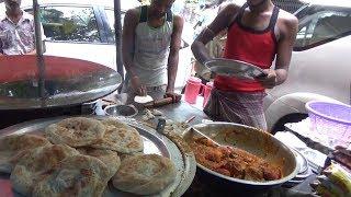 Best Cheap Kolkata Street Food - Paratha 2 Piece @ 10 rs Only