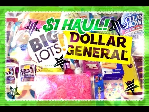 $1 HAUL! Dollar General & Big Lots