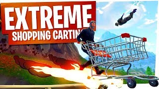 Extreme Shopping Cart Tricks - Fortnite Battle Royale
