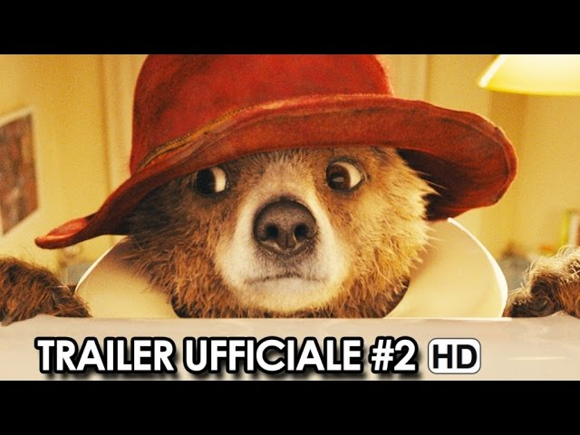 Paddington Trailer Ufficiale Italiano #2 (2014) - Nicole Kidman Movie HD