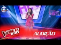 Steici Lauser canta 'Rise up' na Audição –  The Voice Kids Brasil | 2ª Temporada