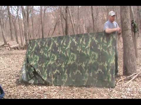 Basic Tarp Set Up