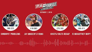 SPEAK FOR YOURSELF Audio Podcast (10.7.19) with Marcellus Wiley, Jason Whitlock | SPEAK FOR YOURSELF