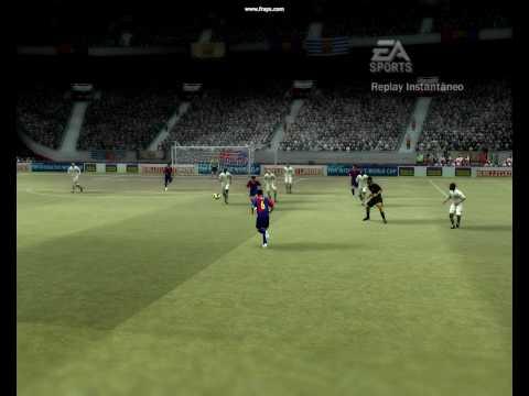 Gol- Fifa 07 - Xavi