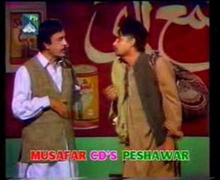 Pashto Mazahia Gupshup Stage Show  Clip 10 video