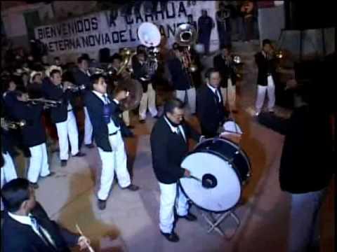 Banda Santa Cecilia de Yauyos  en Carhua (2).avi