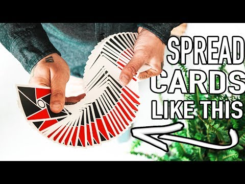 "SPREAD CARDS LIKE A PRO!! - TUTORIAL (Lepaul Spread & Giant ""S"" Spread)"