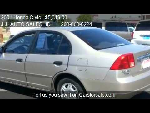 2001 Honda Civic LX sedan - for sale in Meridian, ID 83642