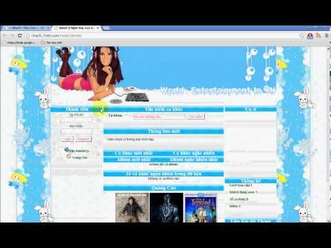 Hướng Dẫn đăng Ký Tạo Web Nhạc Miễn Phí Tại Nhacfc.7viet video