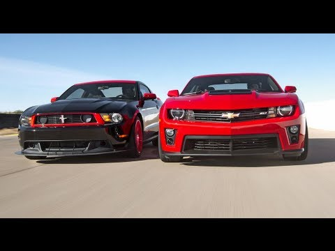 On this episode of Head 2 Head, Chevrolet's new 2012 Camaro ZL1 faces off against the reigning champion of the pony cars, Ford's 2012 Boss 302 Laguna Seca Ed...