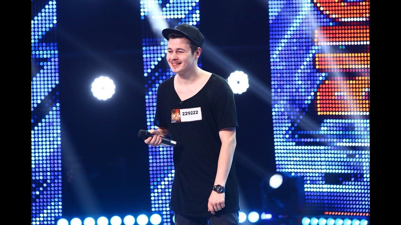 Melodie din repertoriul propriu. Vezi interpretarea lui Răzvan Șurche la X Factor