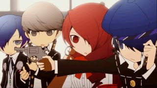 Persona Q - P3 and P4 Cast Getting to Know Each Other