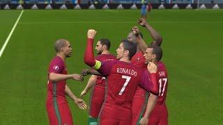 PES 2017 l BARCELONA VS PORTUGAL penalty shootout l