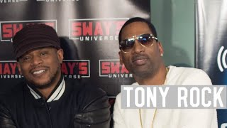 Tony Rock Reacts Faizon Love's Comments on Dave Chappelle + Freestyles | Sway's Universe
