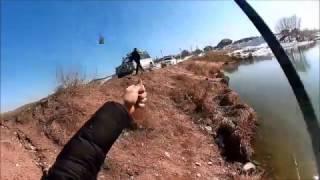 Рыбалка в Алматинской области. Нашли Воду! 27 февраля 2017 года