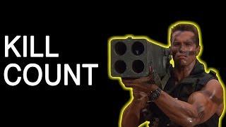 Arnold Schwarzenegger Kill Count