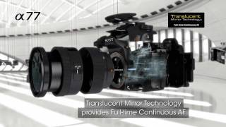 α77 from Sony: Official Video Release [Full HD 1080p]