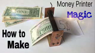 How to Make a Money Printer Machine - Easy Way - Magic Trick - Tutorial