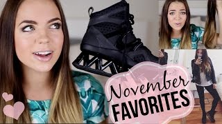 November Favorites 2014!! Hair Extensions, Clothes, Makeup & More