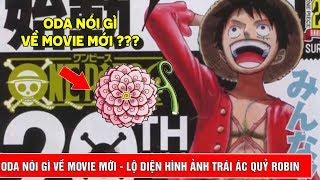 Điểm tin One Piece - Oda nói gì về Movie mới ??? - Lộ diện hình ảnh trái ác quỷ của Robin