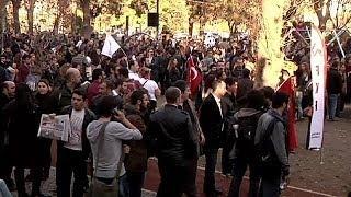 اعتراض جوانان ترکیه به مخالفت اردوغان با زندگی مختلط دانشجویی