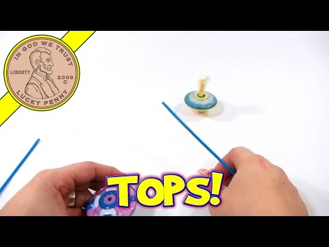 Spongebob And Patrick Spin & Pop Tops video