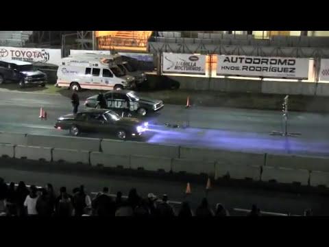 Arrancones nocturnos autodromo hermanos rodriguez 28 01 2012