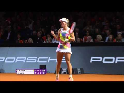2016 Porsche Tennis Grand Prix Semifinal Hot Shot | Angelique Kerber