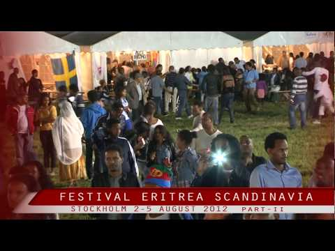 Festival Eritrea Scandinavia in Stockholm 2012 part 2