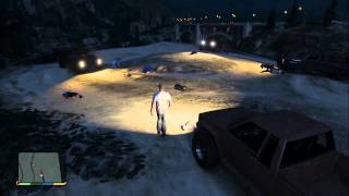 GTA 5 Easter Egg No Country For Old Men Desert ShootOut  Location