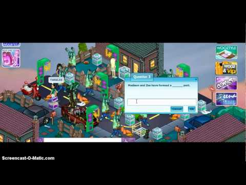 Woozworld Zombie Quest Answers :)