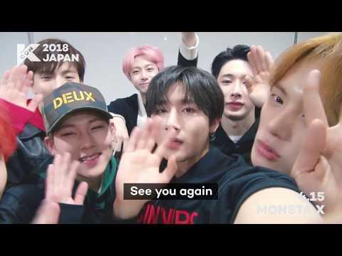 『KCON 2018 JAPAN』INVITATION From MONSTA X