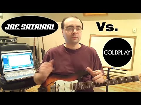 Did Coldplay copy Joe Satriani? Let's Do the Music Theory: PART 1
