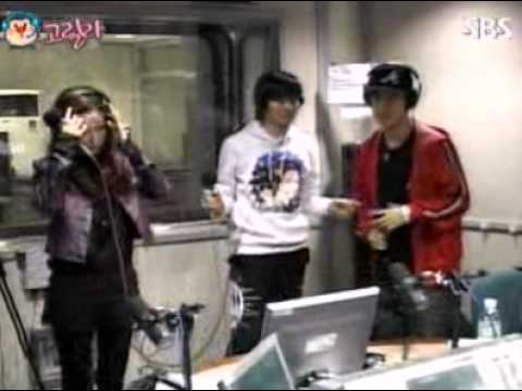 110401 Heechul Sing Orange Caramel   Aing video