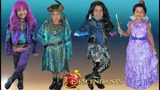 Descendants 2 Halloween Costumes Dress Up Mal Evie Uma