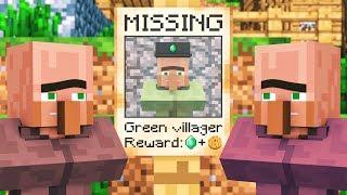 Villager & Witch Life 3 - Alien Being Minecraft Animation